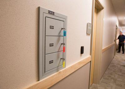 sally-port-gun-locker-mounted-flush-with-wall-inside-police-department