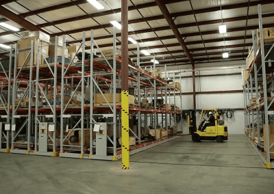 turbine-parts-storage-on-compact-mobile-industrial-racking