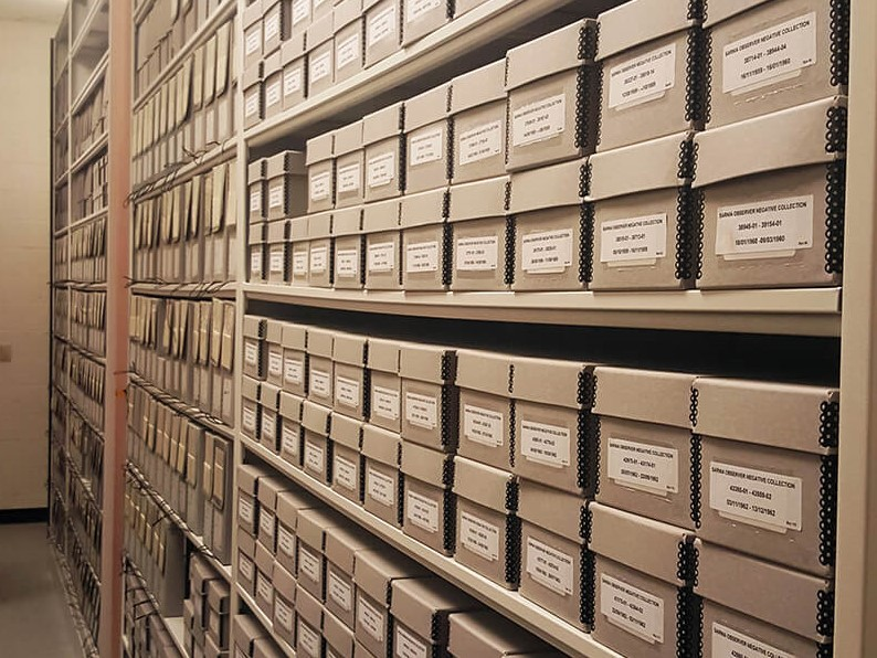 Lambton County Archives Storage