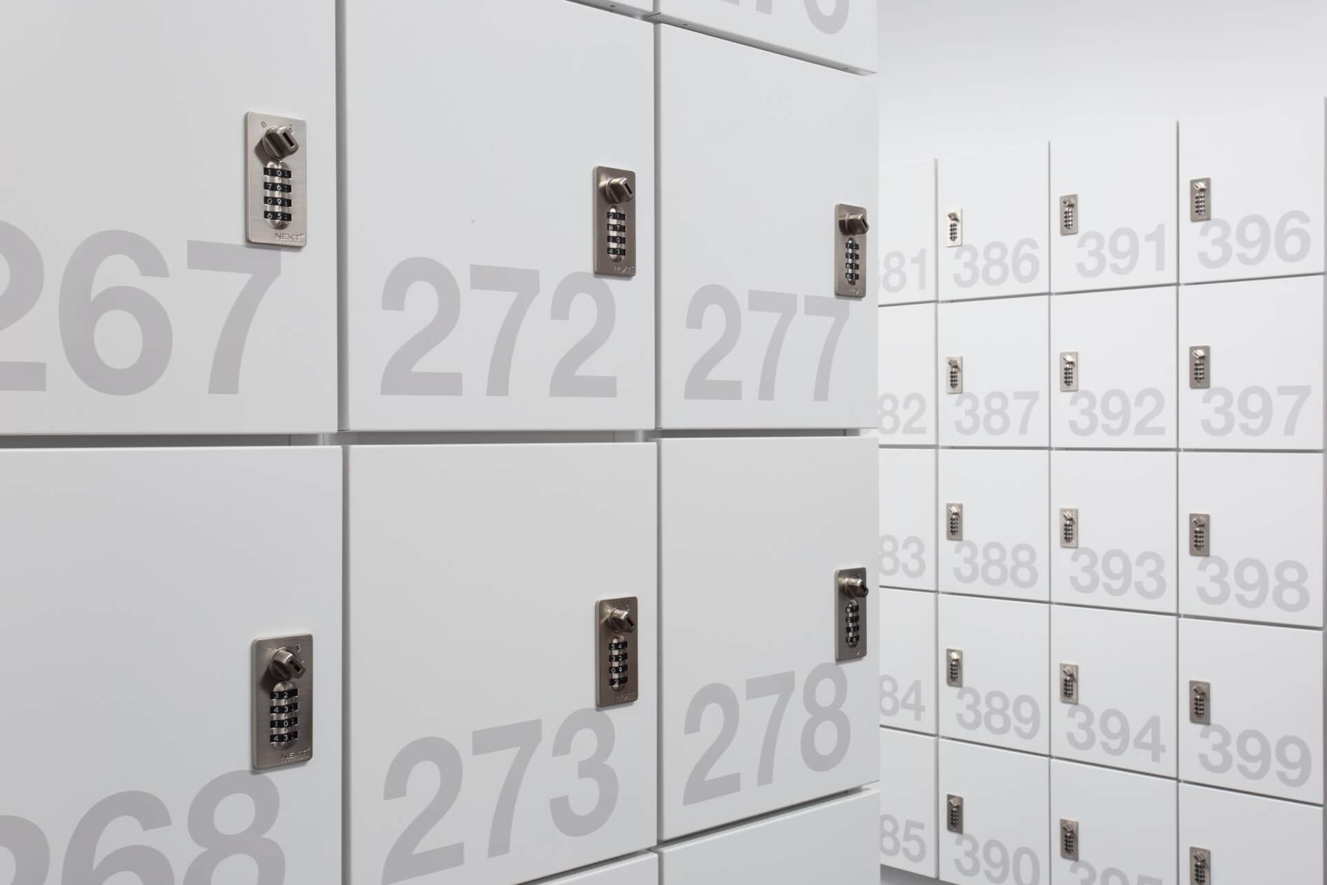 Day Use Lockers