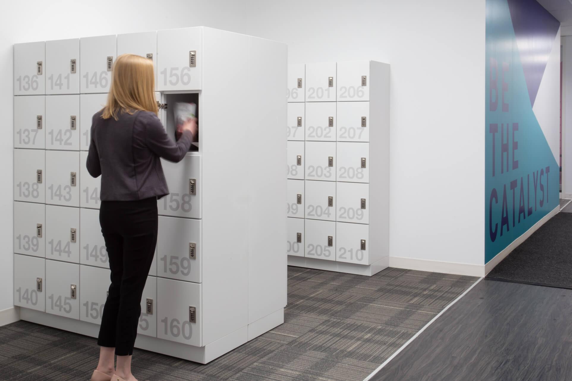 Staff Lockers at Unilever