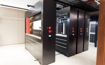 Compacting Showroom Display
