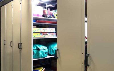 LEVPRO Condenses Two Athletic Storage Rooms into One