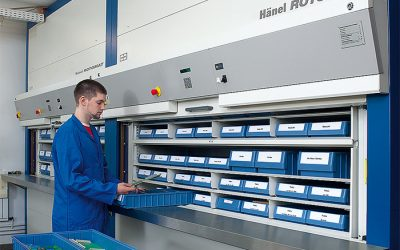 4 Times Vertical Lift Modules Helped with Warehousing and Distribution