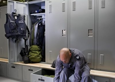 personal-storage-lockers-with-benches-at-peterborough-police-department