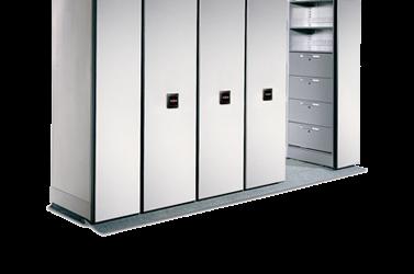 High-Density Mobile Storage Maximizes Space