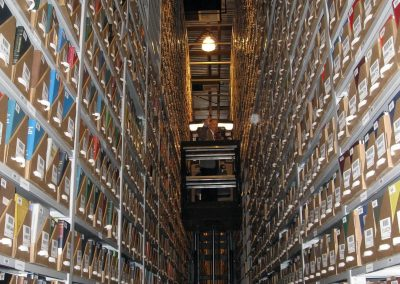stationary-high-bay-storage-system-for-archiving-library-books