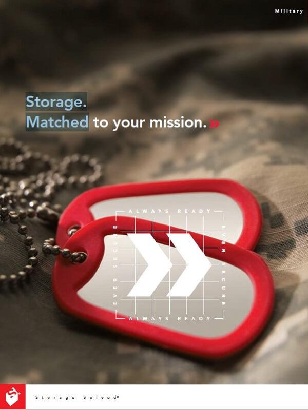 Military Storage Brochure
