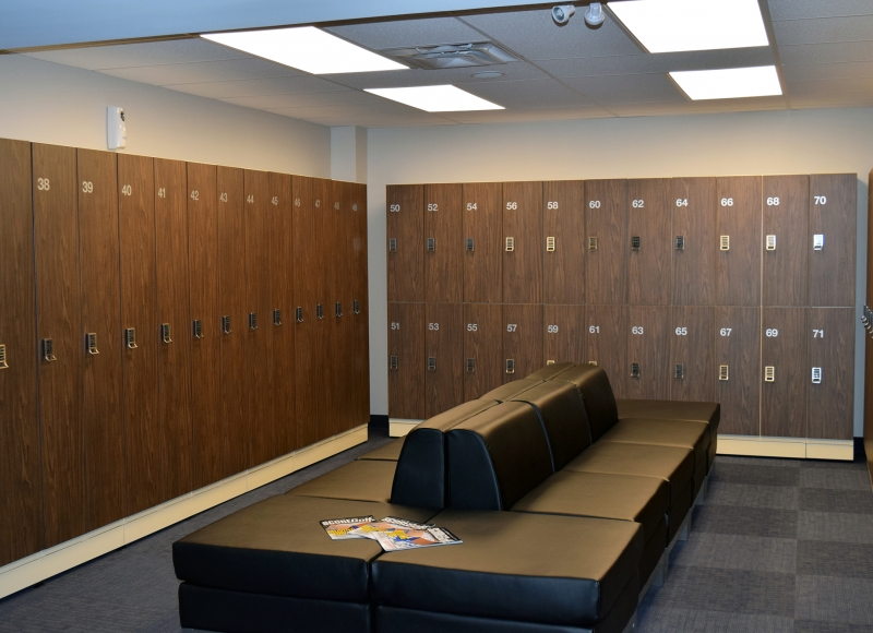 Lebovic Golf Club Lockers