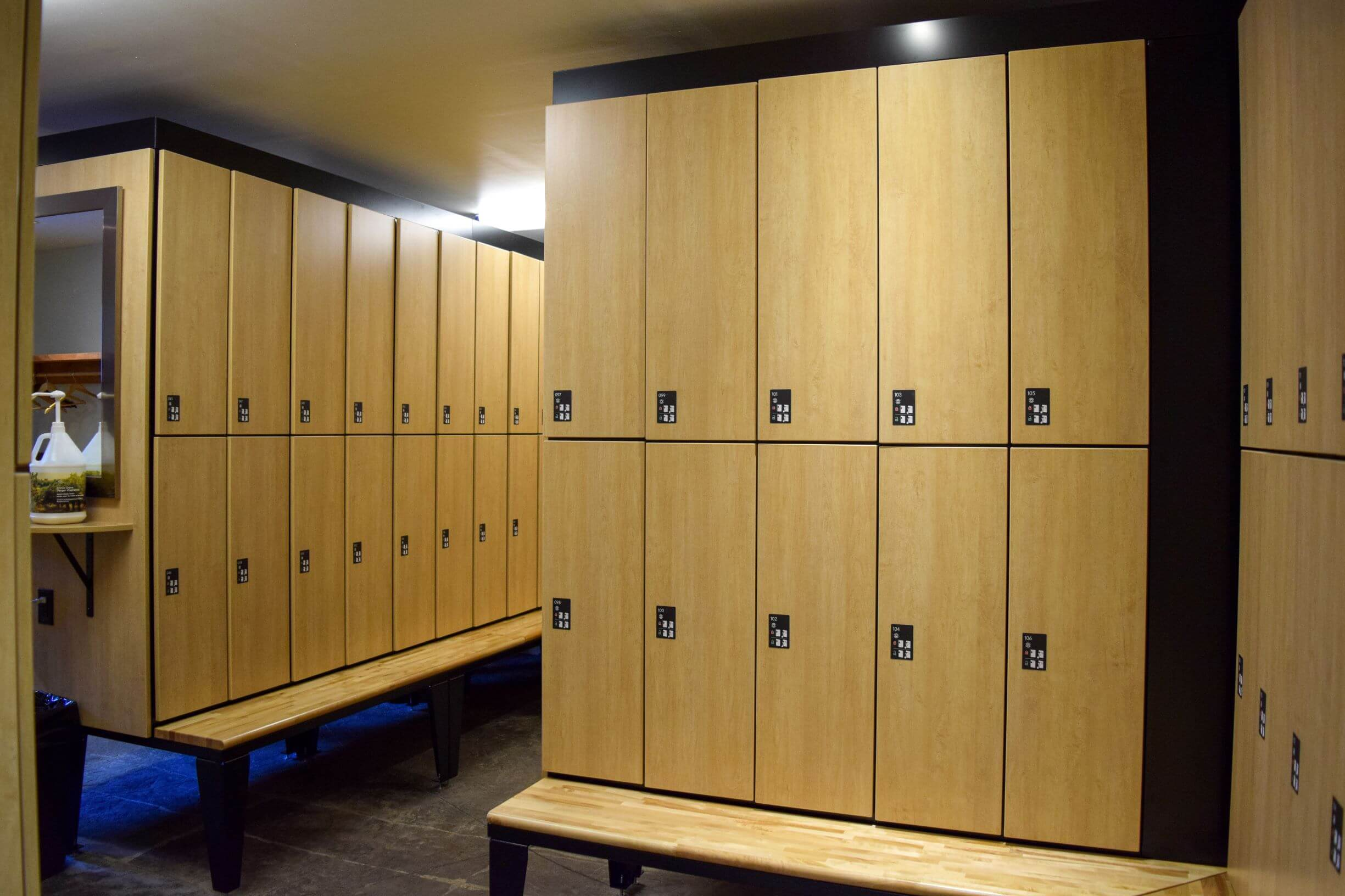 Scandinave Spa Custom Lockers