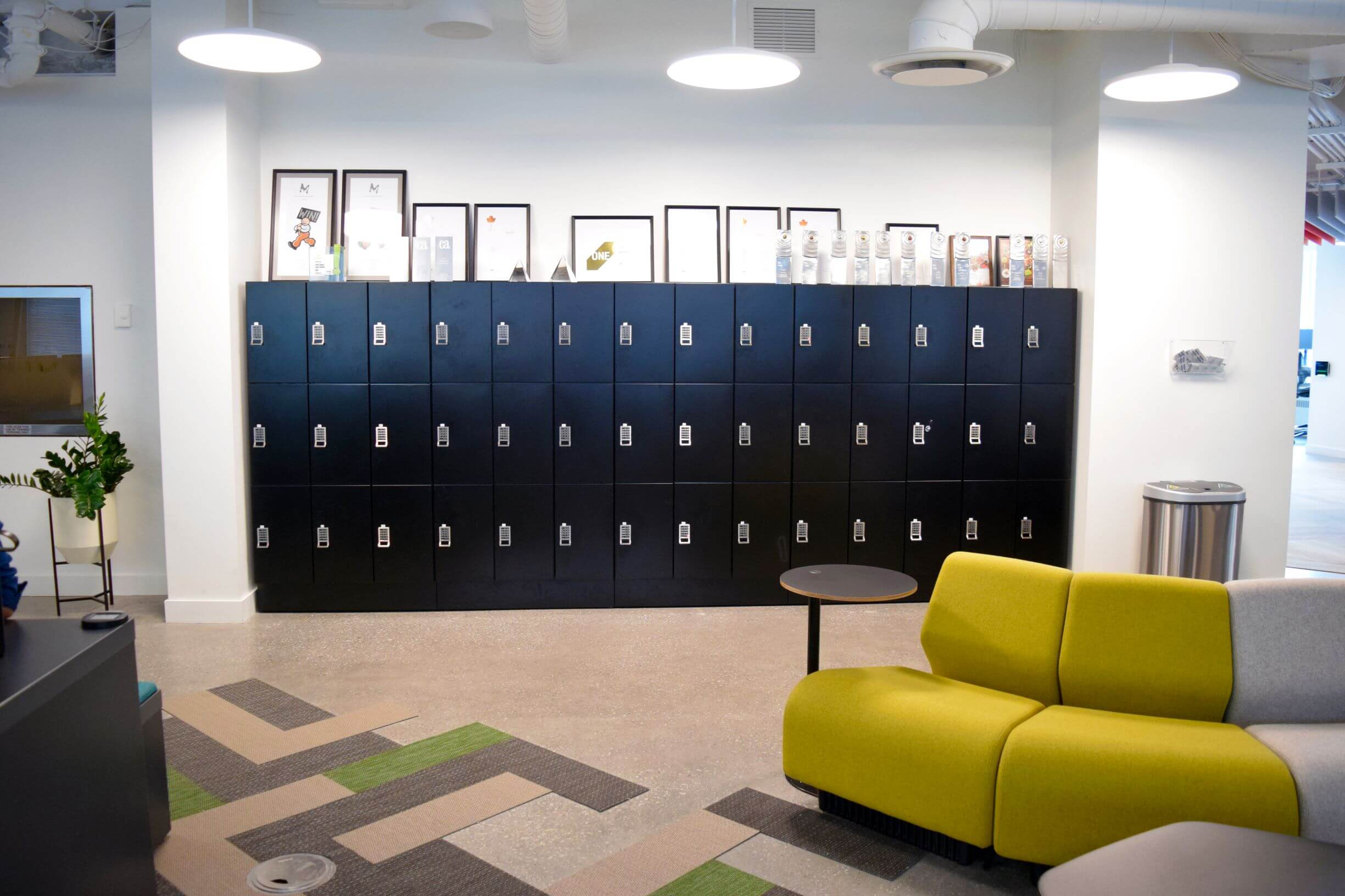 Dentsu Employee Custom Lockers