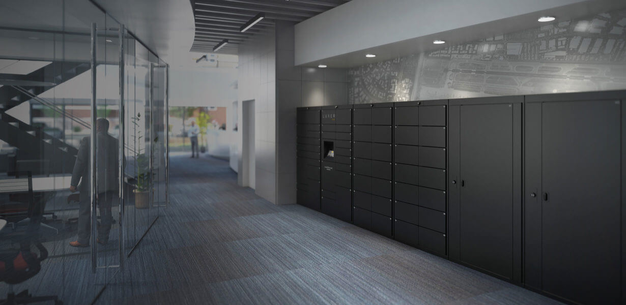 Luxer One Package Delivery Parcel Mail Lockers