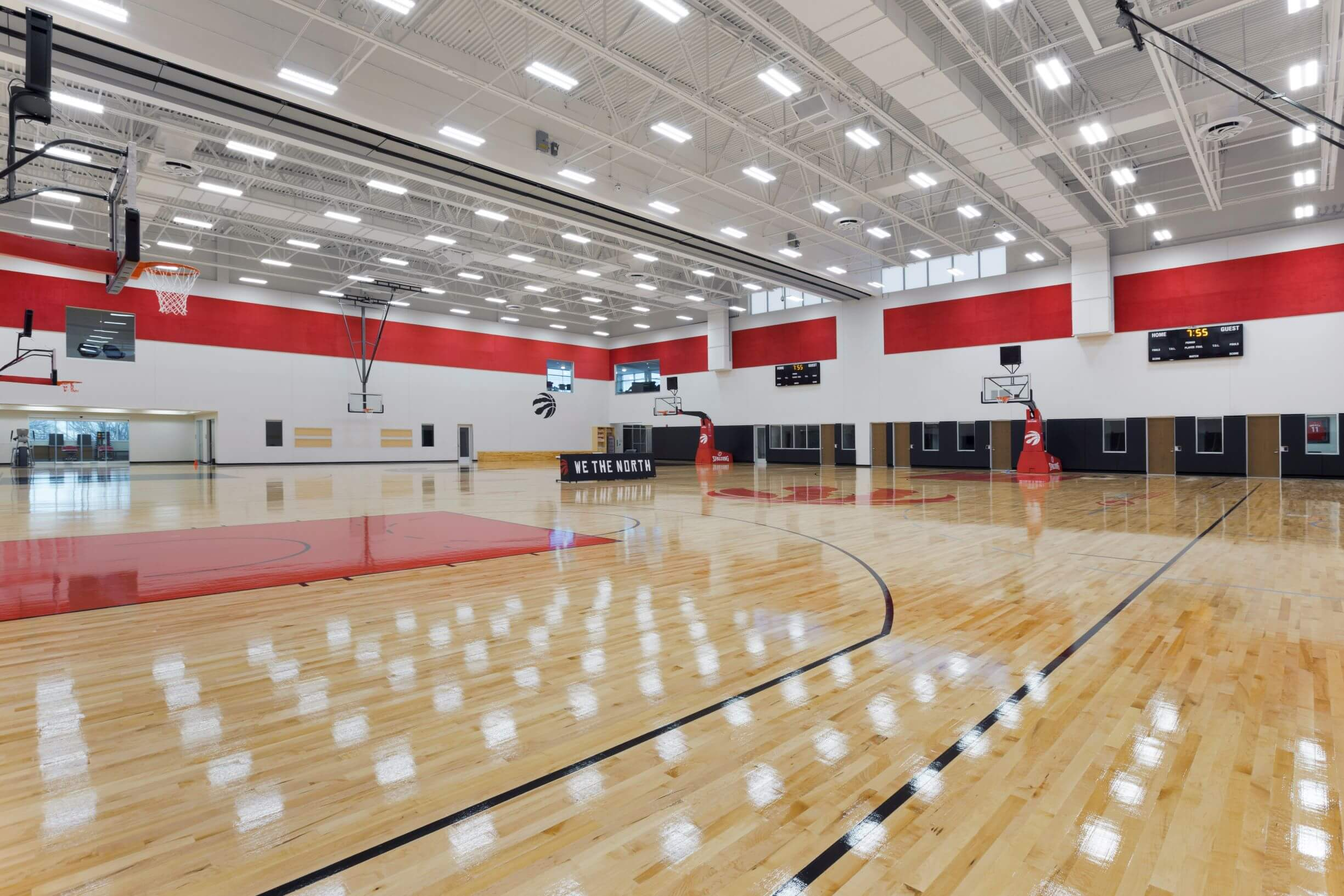 Toronto Raptors Facility Storage