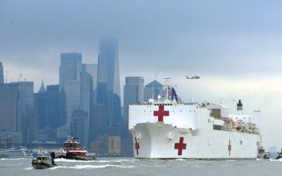 Medical Storage on the USNS Comfort