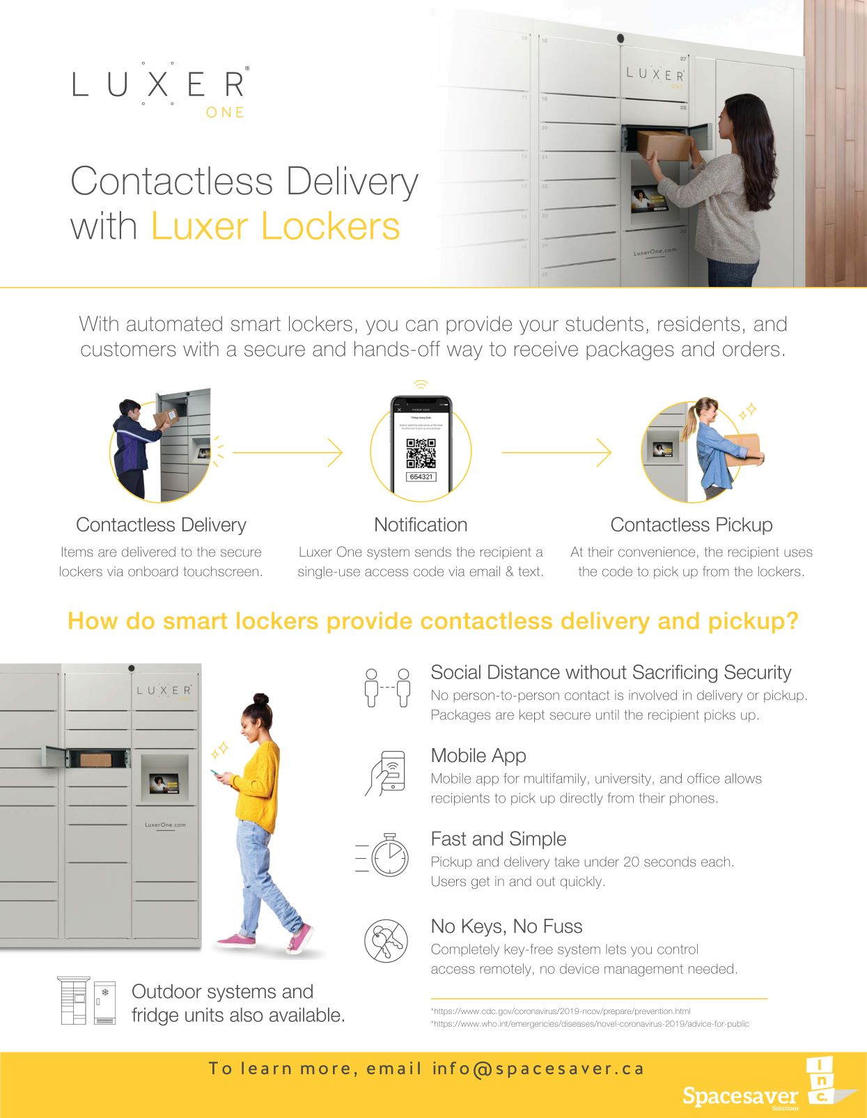 Contactless Delivery Lockers