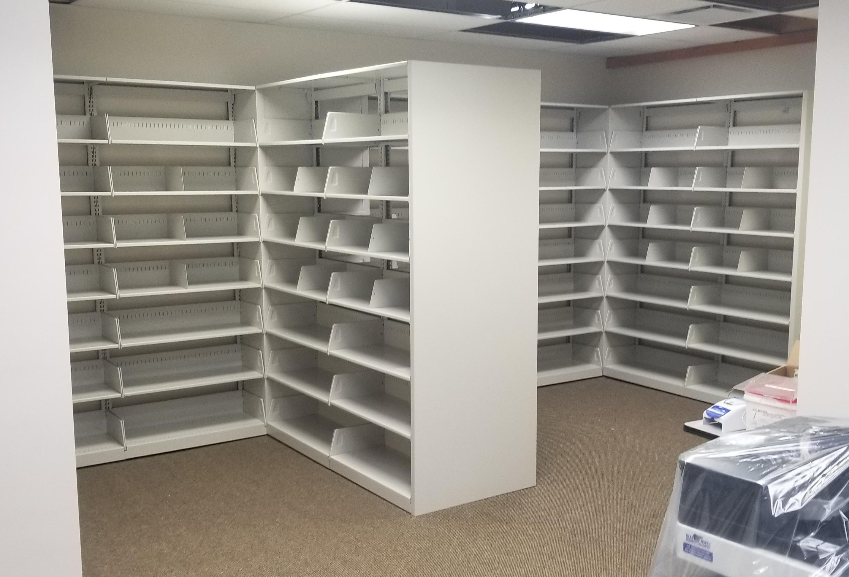 Canadian Mental Health Association Shelving